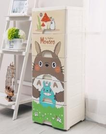 大号加厚抽屉式收纳柜塑料储物柜儿童整理用具衣物收纳盒收纳架玩具柜宝宝衣柜收纳箱