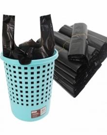包邮手提式垃圾袋背心式塑料袋加厚家用厨房办公酒店包邮大号