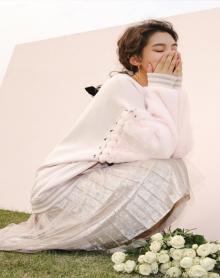 秋冬新款韩版拼接毛绒学生加厚长袖百搭宽松打底衫
