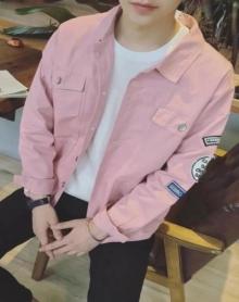 男士外套2017新款韩版夹克男潮流宽松bf风青年衣服牛仔外套