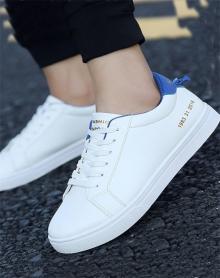 冬季新款男士低帮板鞋百搭休闲鞋潮流男鞋子韩版学生小白鞋子